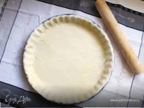 Несладкое песочное тесто (pate brisée salée)