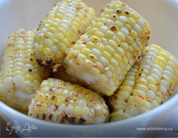 Кукуруза с кленовым сиропом