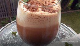 Ледяной шоколадно-мятный кофе