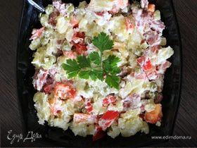 Немецкий салат с болгарским перцем