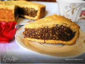Швейцарский ореховый торт