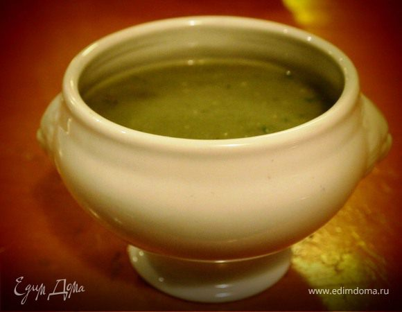 Легкий суп-пюре для последних жарких дней