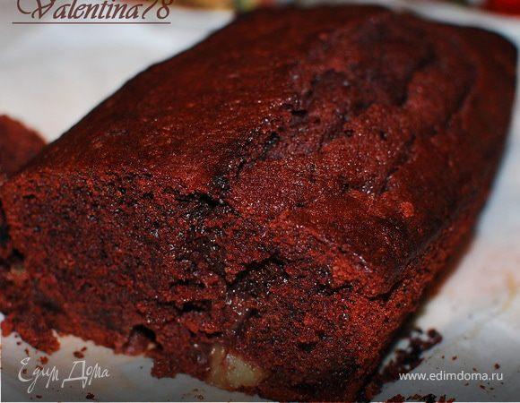 Шоколадный кекс на каштановой муке