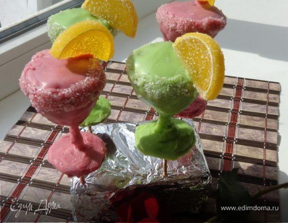 Пирожные «Выпьем за ЕД!!!» (Наталье и команде ЕД)