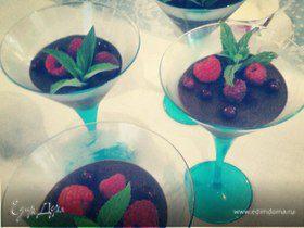 Шоколадно-ванильный мусс от Юлии Высоцкой