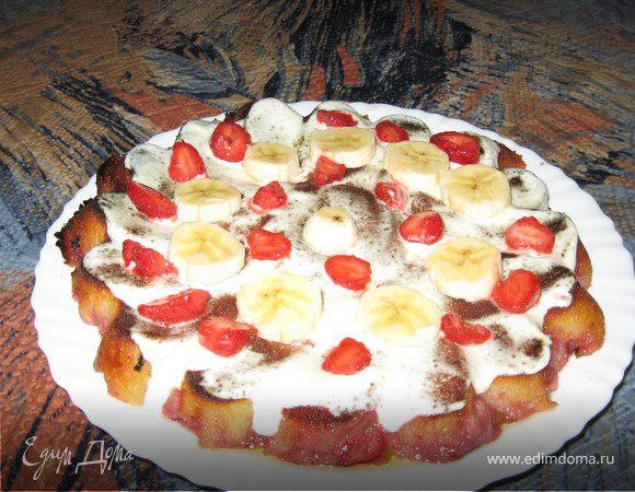 """Вкусный пирог """"Летний вечерок"""""""