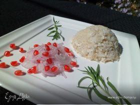 Паровые курино-рисовые купола с сюрпризом