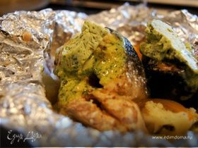 Сочная нежная рыба с ароматным соусом