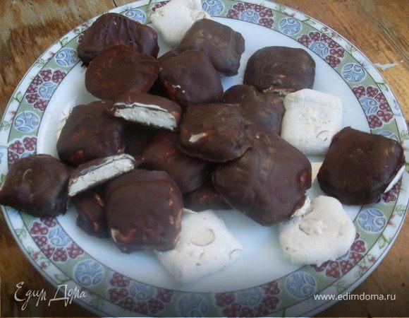 """Конфетки """"Нуга в шоколаде"""""""