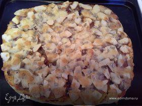 Пицца с яблоками по-итальянски