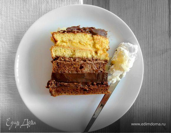"""Торт """"Эффект Домино"""""""