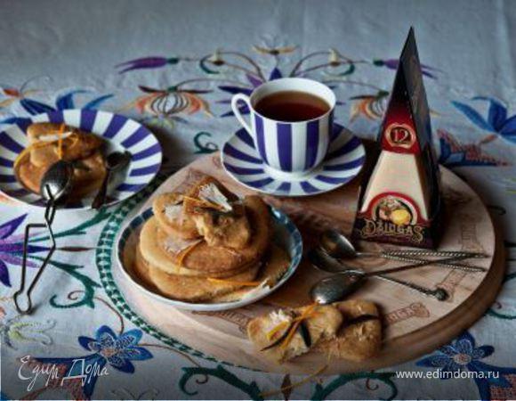 Песочное печенье с апельсином и шалфеем