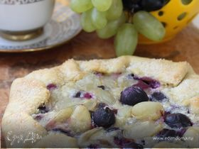 Кростата с виноградом (La crostata con l'uva)