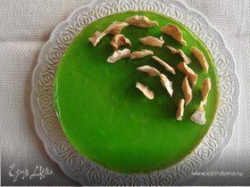 Яблочный торт-мусс