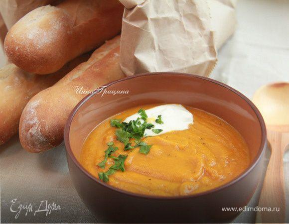 Марокканский тыквенный пряный суп от Гордона Рамзи