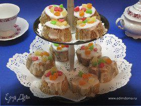 Кексы с тыквой