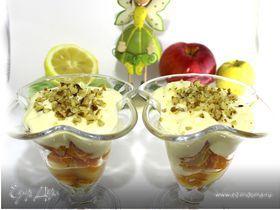 Тыквенный десерт с нежным кремом