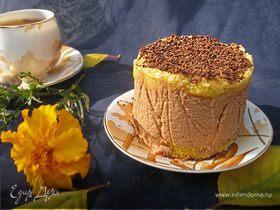 Тыквенно-шоколадные пирожные