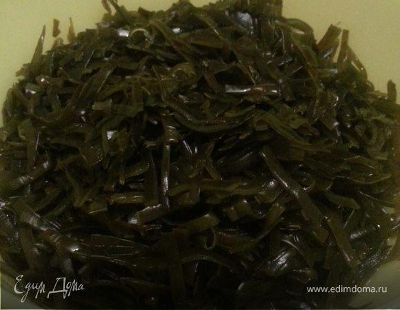 Заготовка из морской капусты для салатов