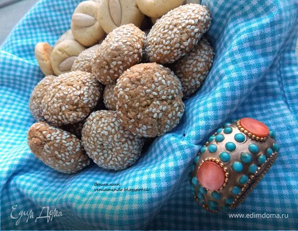 Марокканское печенье (Ghoriba)