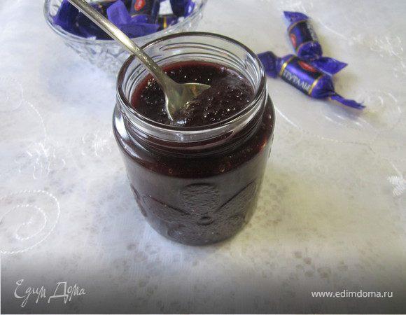 Сливовый джем с трюфельными конфетами