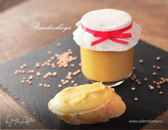 Джем из чечевицы и ванили (Puy lentil jam with vanilla)