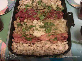 """Запеченные куриные грудки с овощами и шампиньонами """"Сделай Сам"""""""