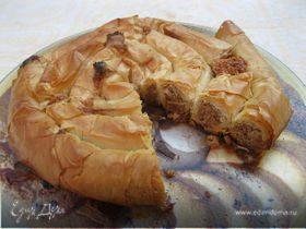 Марокканский миндальный пирог