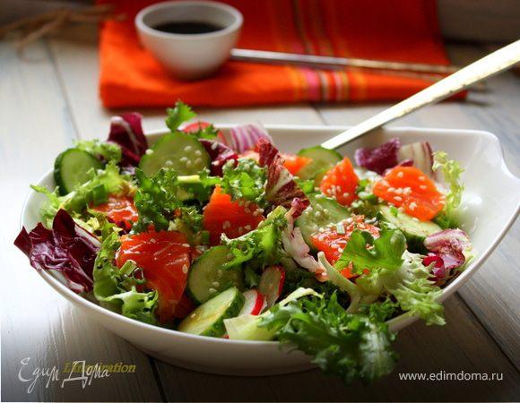 Овощные салаты соусы