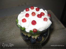 Фруктовый салат-коктейль «Красота и здоровье»