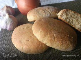 Пшенично-ржаные лепешки по рецепту Вильяма Похлебкина