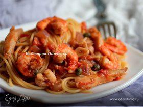 Спагетти Блади Маринара