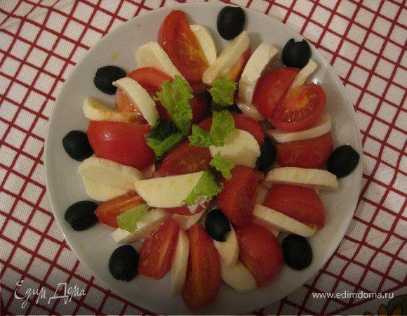 Каприйский зимний салат