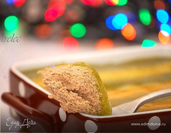"""Запеченный паштет из печени кролика """"Со вкусом Нового года"""""""