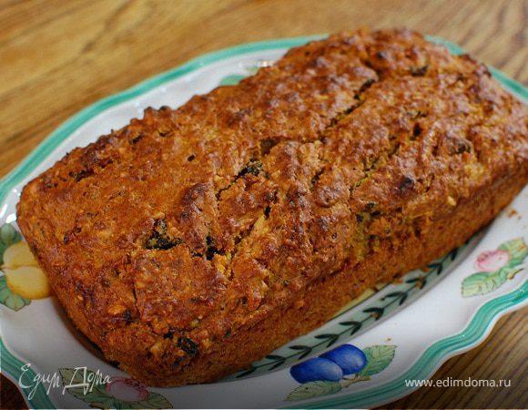 Тыквенный хлеб с фундуком и черносливом