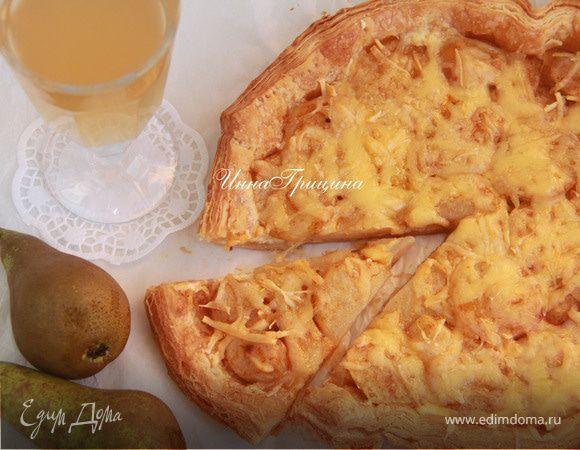 Болгарский пирог с грушами