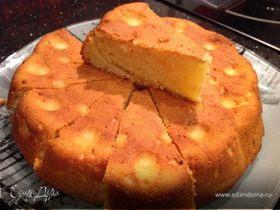 Мандариново-творожный кекс