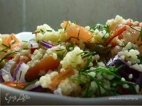 Мой самый любимый в-кус-кус-ный салат