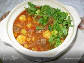 Венгерский суп с чипетками