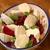 Салат из запеченной свеклы а-ля капрезе