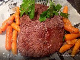 Говядина, тушенная с морковью