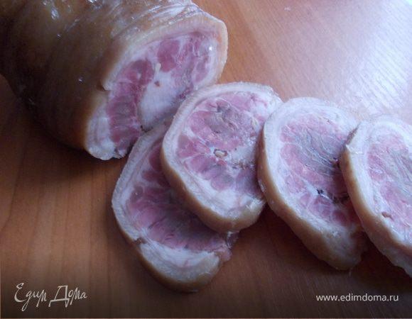 Ветчина из свиной рульки