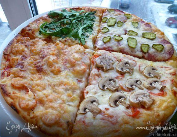 """Пицца """"Времена года"""""""