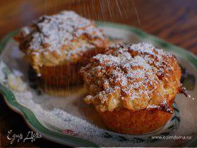 Яблочные кексы с кленовым сиропом