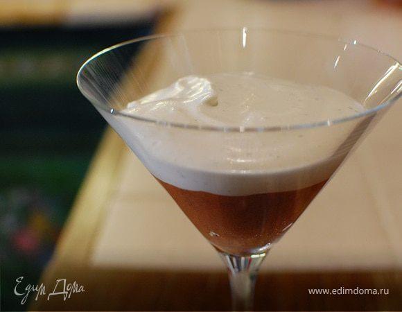 Шоколадный десерт с мятой