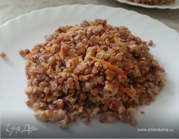 Гречка с мясом по мотивам рецептов Ю.Высоцкой