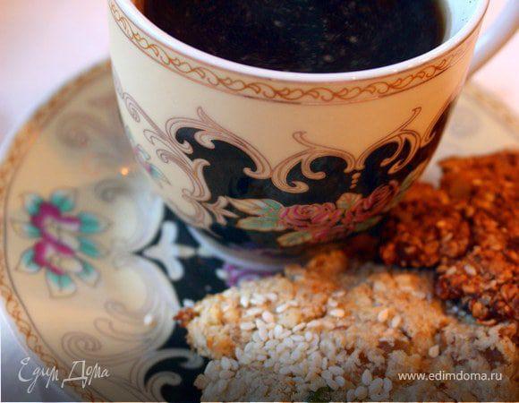 Орехово-овсяное печенье (а-ля гранола)
