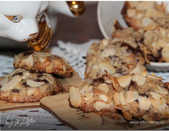 Арналевское шоколадное печенье с орехами