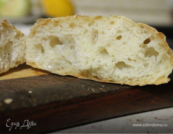хлеб чиабатта как печь