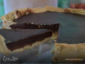 Шоколадно-карамельный тарт